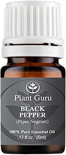 Black Pepper Essential Oil. (Piper Nigrum) 5 ml. 100% Pure, Undiluted, Therapeutic Grade.