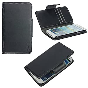 Poetic Slimbook Case for the Samsung Galaxy S III S3 i9300 Black (3 Year Manufacturer Warranty From Poetic)