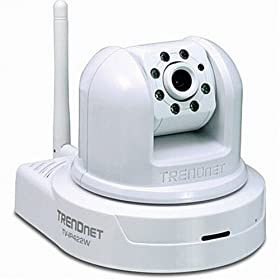TRENDnet TV-IP422W Wireless Day/Night Pan/Tilt Internet Camera Server with 2-Way Audio  (Version A1.0R)