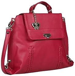 Butterflies Handbag (Pink)(BNS 0354)