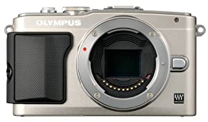 Olympus E-PL5 16MP Compact System Camera with 3-Inch LCD, Body Only (Silver)