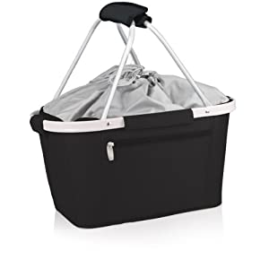 Picnic Time Metro Insulated Basket, Black