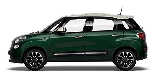 Fiat 500L Lounge 1.6Mjt 120 CV, Verde con tetto bianco - Welcome Kit