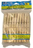 Loew Cornell 1021178 Woodsies Spring Clothespins, 40 count