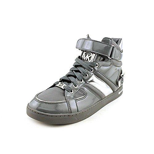 Michael Kors Women'S Fulton Hight Top Lace Up Sneaker In Smoke Size 10