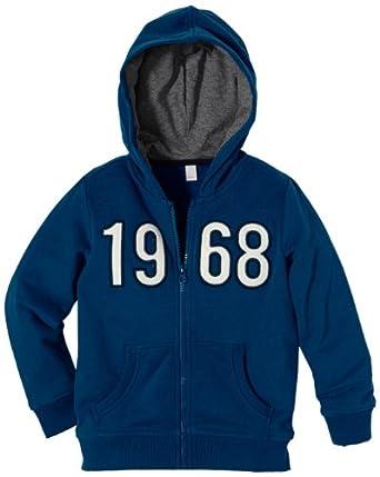 ESPRIT Jungen Sweatoberteil 093EE8J001, Gr. 116/122, Blau (475 muddy lake blue)