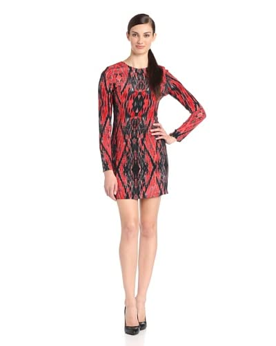 Parker Women's Yolanda Printed Long Sleeve Dress