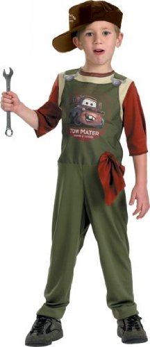 Tow Mater Mechanic - X-Small by Disguise (Tow Mater Halloween Costume)