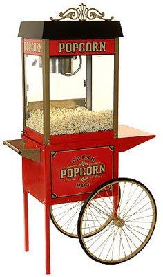 Benchmark 6oz Street Vendor popcorn machine with Cart (Benchmark Popcorn Machine compare prices)