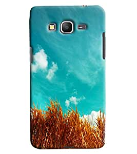 Blue Throat Grass Printed Designer Back Cover/ Case For Samsung Galaxy Grand Prime