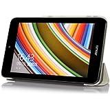 [Bamboo] Mince Couverture Smart Cover Étui Housse en PU Cuir Avec Main Support Fonctions Pour ASUS VivoTab Note 8 (M80TA) Windows 8.1 Tablet ,Blanc