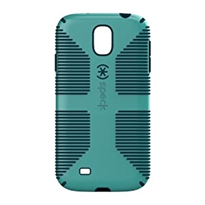 Speck Products CandyShell Grip Samsung Galaxy S4 Case - Retail Packaging - Caribbean Blue/Deep Sea Blue