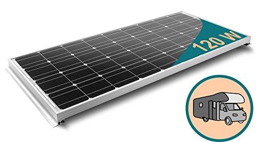 Kit Pannello Solare Moove 120w : Pannello solare w per camper kit completo