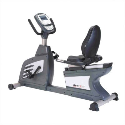 Multisports Fitness Commercial Self Generating Recumbent Exercise Bike