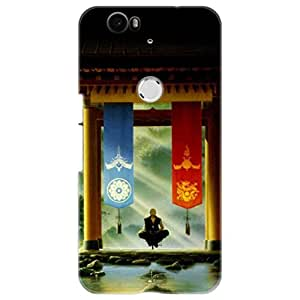 a AND b Designer Printed Mobile Back Cover / Back Case For Huawei Nexus 6P (Nexus_6P_3D_1958)