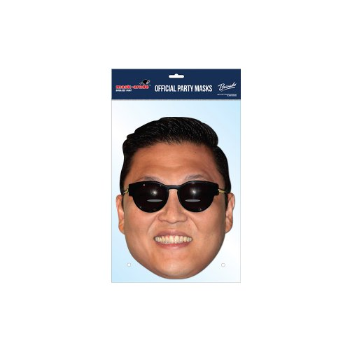 Psy Gangnam Style Cardboard Mask - 1