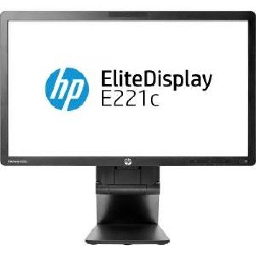 "Hewlett-Packard D9E49A8#Aba / Business E221C 21.5"" Led Lcd Monitor - 16:9 - 7 Ms Adjustable Display Angle - 1920 X 1080 - 250 Nit - 1,000:1 - Speakers - Dvi - Vga - Usb - Black"