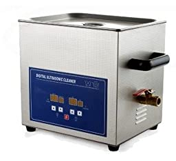 JeKen 10L Digital Ultrasonic Cleaner PS-40A with with Timer & Heater Without Basket 110V