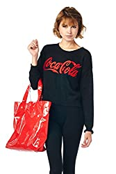 [The Classic Brand] Black Official Coca Cola Knit Sweater Medium