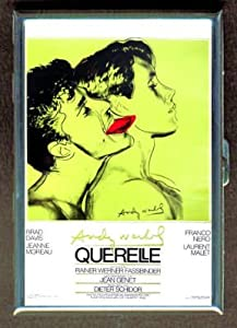 Andy Warhol Movie Poster Double-Sided Cigarette Case, ID Holder, Wallet with RFID Theft Protection