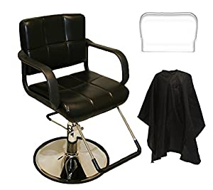 LCL Beauty Salon Hydraulic Styling Chair with FREE Deluxe Cutting Cape