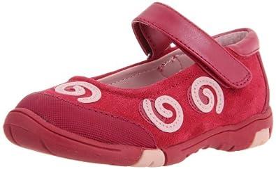 Jumping Jacks Dizzy Flat (Infant/toddler/Little Kid/Big Kid)Hot Pink,10.5 M US Little Kid