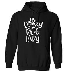 Crazy dog lady hoodie XS - 2XL