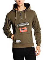 Geographical Norway Sudadera con Capucha Gymclass (Caqui)