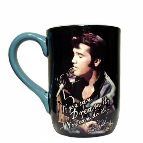 Elvis, If You Can Dream It Designer Ceramic Coffee Mug