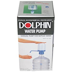 Water Bottle Pump - The Original Dolphin Manual Drinking Water Pump - Fits Most 5-6 Gallon... by TERAPUMP
