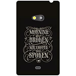 Nokia Lumia 625 Back Cover - Spoken Designer Cases