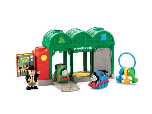 Thomas & Friends Knapford Key Station back-885790