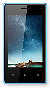 TTsims M5 SMART - 3.5 inch Android Smart Phone - Dual Camera - 3G Dual 2 Sim Cards at the same time - HVGA Wifi 1Ghz Processor Dual Core - Unlocked (USB charger, Blue)
