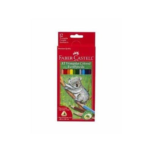 Triangular Colored Ecopencils 12/Pkg-Jumbo/Full Length front-548771