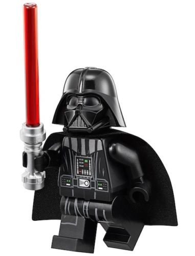 LEGO Star Wars Minifigure - Darth Vader (White Head-Neck Piece Helmet) 75093 by LEGO