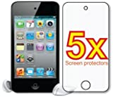Apple iPod Touch 4th Generation Gen Premium Clear LCD Screen Protector Cover Guard Film, no cutting is required Reviews