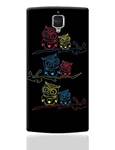 PosterGuy OnePlus 3 Case Cover - Owl | Designed by: Tiny Dots