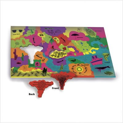 Cheap Chenille Kraft WonderFoam Giant My Meteorologist Activity Puzzle (B0039N7ZTY)
