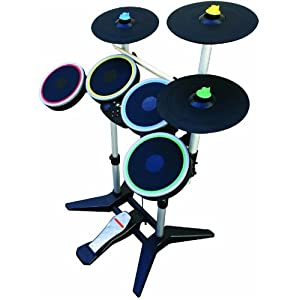 Rock Band 3 Wireless Pro-Drum and Pro-Cymbals Kit for Xbox 360 reviews