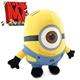 "Despicable Me Minion 6"" STEWART ONE-EYE Plush Figure Soft Doll Toy collectible -XTRAFUN ESSENTIALS"