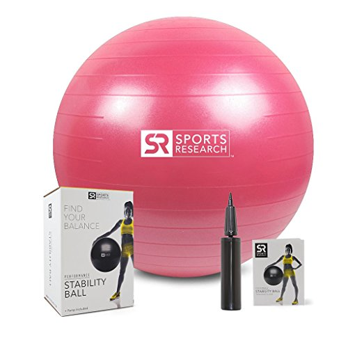 Stability Ball (Pink, 75cm)