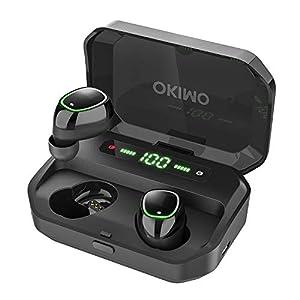 【2019最新版 LEDディスプレイ Bluetooth イヤホン 】 ワイヤレスイヤホン 電池残量インジケーター付き