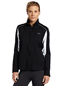 Reebok Women's CB Woven Jacket (Black, Large)