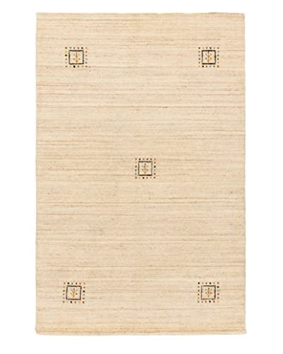 Hand-Knotted Kashkuli Gabbeh Rug, Beige/Cream, 3' 10 x 5' 10 As You See