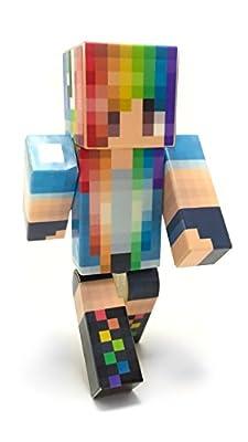 EnderToys - Rainbow Girl - a plastic toy by Seus Corp Ltd.