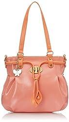 Butterflies Handbag Pink (BNS 0524)