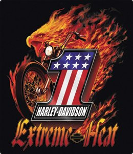 Harley-Davidson® Extreme Heat Embossed Tin Sign