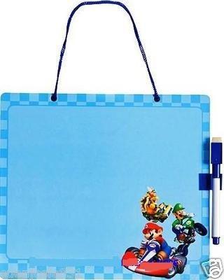 Mario Bros Mario Kart Wii Dry Erase Message Board Pen