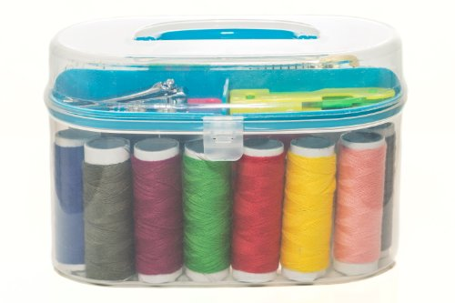 Why Choose Portable Travel Sewing Kit - Suitable for Beginners & Girls, Comes in 5 Different Pre...