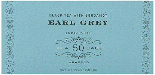 Harney & Sons Black Tea, Earl Grey, 50 Tea Bags (Green Tea British compare prices)